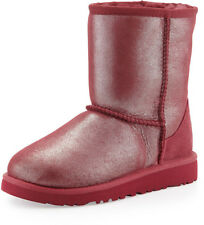 UGG Australia Girls toddler Classic Glitter Boot Size 6