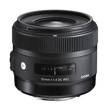 Sigma 30mm f1,4 DC HSM / Art Objektiv (Filtergewinde 62mm) für Canon mit OVP