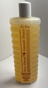 Vintage Avon Bubble Bath NOS Sweet Almond 24 ounces New Old Stock