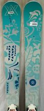 13-14 Volkl Kenja Used Women's Skis w/ Fixed Bindings Size 156cm #336596