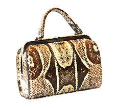 Vintage Rare Real Python Snakeskin Purse Handbag