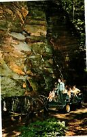 Vintage Postcard  - Lost Canyon Horse & Buggy Tour Wisconsin Un-Posted #1180