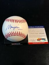 Mauri Wills Autographed Romlb SS Ball W/Coa Los Angeles Dodgers