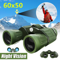 60x50 Zoom Military Army High Power HD Binoculars Telescope  Anti UV Hunting