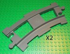 LEGO Duplo - Duplo, Train - Curved Track (X2) - Dark Gray