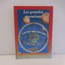 Les grandes inventions Dominique JOLY Hachette Jeunesse 1997