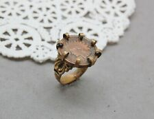Indian Head Penny Coin Ring Antique 1903 Brass Setting Size 7 Adjustable Vintage