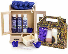 BRUBAKER 'Blueberry Vanilla' 15 Pcs. Bath Set Xmas Gift for Her Ladies Women