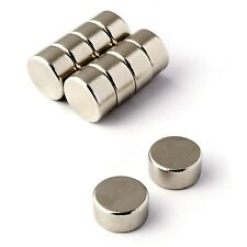 Strong Magnets 10 of 10mm x 5mm Disc Magnet * 3.5Kg PULL * Round circle powerful