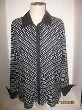 Women's Lane Bryant Top / Blouse Button Down Long Sleeve Size 18/20 NWOT