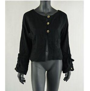 EWA I WALLA - linen blouse  Größe: L