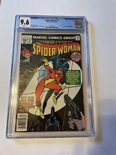 Spider-woman #1 CGC 9.6 NM+ white NEW ORIGIN 1978 1st series  STUNNING WOLFMAN
