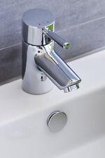 KNOPPO® Waschbecken Überlaufblende / Überlaufabdeckung - Mirror (chrom) silber