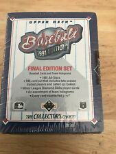 1991 Upper Deck Final Edition Baseball100 Card Set Factory