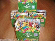 Panini Adrenalyn XL World Cup 2014 Full box - 50 x Booster sealed box 50 packs