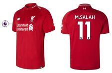 Trikot New Balance FC Liverpool 2018-2019 Home PL - M. Salah 11 [128 bis XXXL]