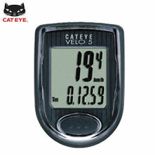 CATEYE Bike Bicycle Cycling Odometer Speedometer Passometer Waterproof VELO5_EC