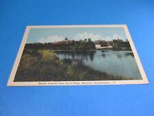 Mental Hospital From Souris River Weyburn Saskatchewan Vintage Postcard PC47