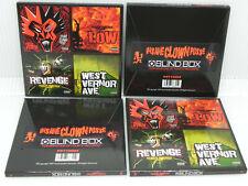 BRAND NEW Insane Clown Posse (ICP)  Blindbox complete set of 4 3-inch LPs