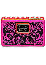 Coco Diecut Party Flags Disney Loungefly Clutch Flap Wallet S