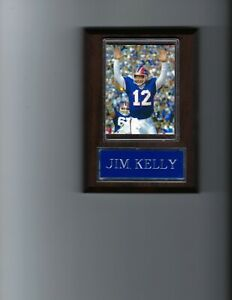 JIM KELLY PLAQUE BUFFALO BILLS FOOTBALL NFL