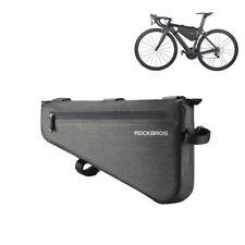 ROCKBROS Bike Cycling Waterproof Triangle Frame Bag Capacity 5L/8L Black Gold