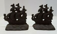 New ListingVtg Cast Iron Boat/Ship Book Ends