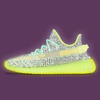 Adidas Yeezy Boost 350 V2, Yeezreel Reflective - UK10 / US10.5 / EU44.6 - FX4130