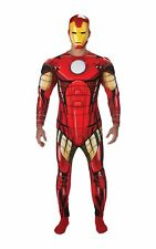 Rubie's Official Marvel Iron Man Deluxe, Adult Costume - Standard Size STD