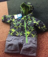 BABY BOYS COLUMBIA LITTLE DUDE 0-3 MONTHS SNOWSUIT NWT