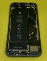 Original Apple iPhone 8 Black Gray Housing Frame Back Cover Small Parts 87% Batt