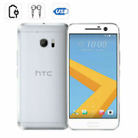 NEW HTC 10 Smartphone Factory Unlocked 32GB Android Mobile 4G 5.2'' SILVER BOXED
