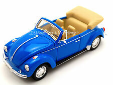 VW  VOLKSWAGEN COLÉOPTÈRE CABRIOLET OUVERTE 1/24 WELLY