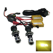 Headlight H4 Pro HID Kit 3000k Yellow 55W Fits Mercedes Coupe E G S RTHK3032