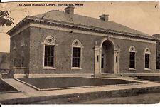 1923 Jesup Memorial Library Bar Harbour Maine B&W photo W.E. Sherman Publisher