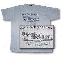 Civil War Baseball T-Shirt 76th New York Infantry from Soldier's Letter