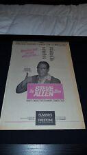 Steve Allen Show Rare Original Filmways Promo Poster Ad Framed!
