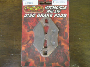 Performance Plus Polaris 335 2200901 Brake Pads 07036S Sintered #6BuckBrakes