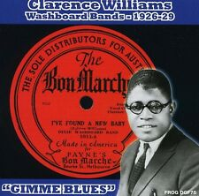 Clarence Williams - Washboard Bands 1926-1929 Gimme Blues [New CD]