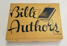 Vintage BIBLE AUTHORS Card Game from Zondervan Publishing House
