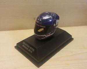 Helm Arai Sebastian Vettel Monaco 2010 - 1:8
