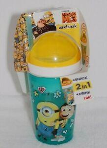 Zak! Snak Cup ~ 10 oz Cup & 4 oz Snack Cup ~ Despicable Me 3 ~ Minions