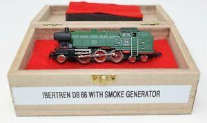N Scale Ibertren 2-6-4 DB #66002 Steam Locomotive w/ Smoke Generator Super Rare
