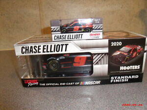 Chase Elliott 2020 Hooters Night Owl #9 Camaro NASCAR 1/24 CUP & 1/64 combo