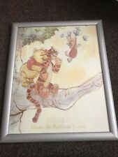 FRAMED WINNIE THE POOH POSTER