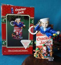 Enesco Treasury Ornament 1996 Have A Cracker Jack Christmas