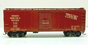 ATHEARN ~ HO SCALE ~ 40' SD BOX CAR TORONTO HAMILTON & BUFFALO ~ T.H.B. #3049