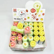 1pc Kids School Supplies Fruit Eraser Rubber Strawberry Lemon Kiwi Rubbers Gift