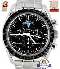 Omega Speedmaster Chronograph Moonphase Sapphire Sandwich 42mm Watch 3576.50.00