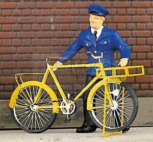 Weinert 3233 - Bicicletta con portabagagli frontale. Scala H0 Da montare e verni